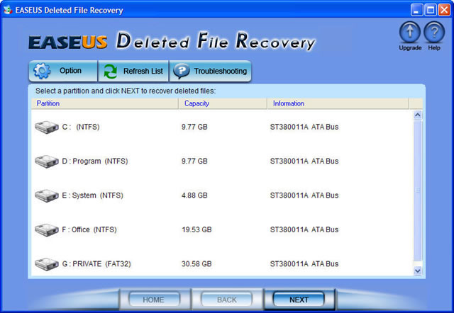 EaseUS Deleted File Recovery 3.0.1 full